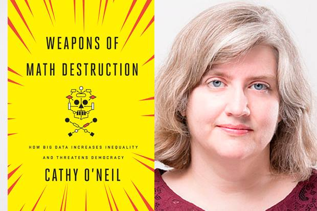 Evening with Cathy O'Neil, author of Weapons of Math